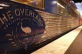 Overland at platform