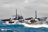 Sea Shepherd long-range vessel The Bob Barker at sea
