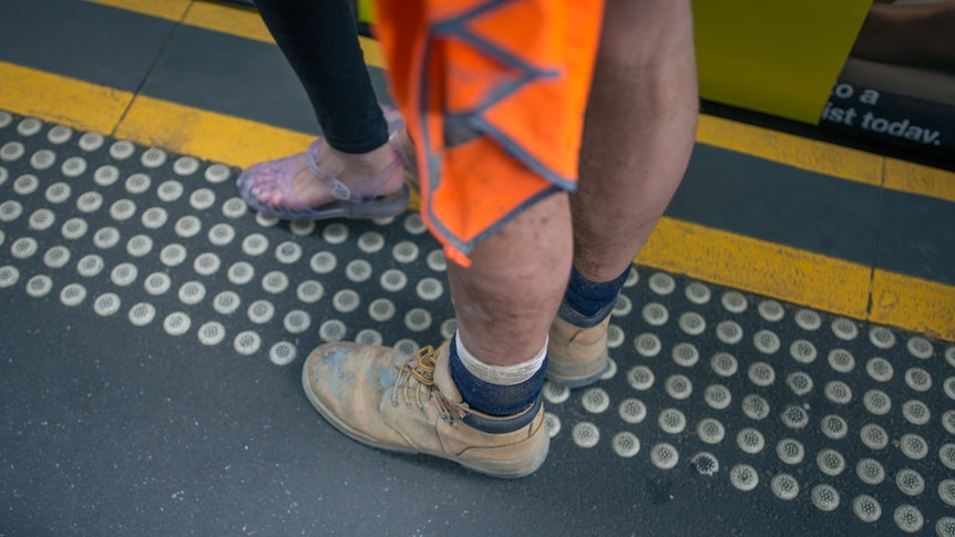 Construction worker boots