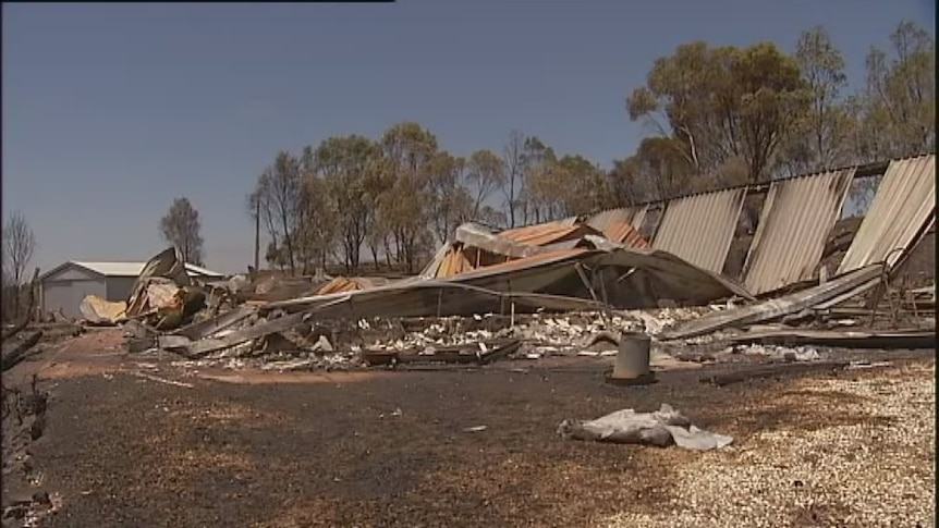 Homes lost as state burns