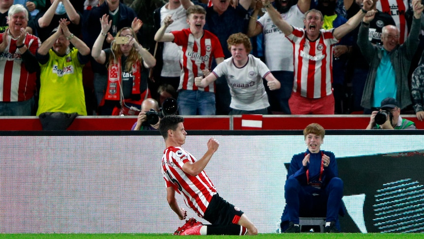 Brentford beats Arsenal in Premier League opener, 74 years after their last game in England's first division - ABC News