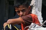 11-year-old Ahmad from Beit Hanoun in Gaza