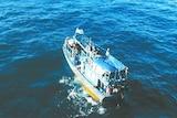 Asylum seeker boat off WA's north coast