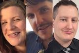 Composite image of Kate Goodchild, Luke Dorsett and Roozi Araghi