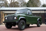 Land Rover used to transport Prince Philip