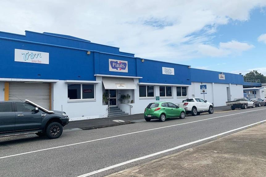 Front entrance of Lactalis-Pauls factory in Rockhampton.