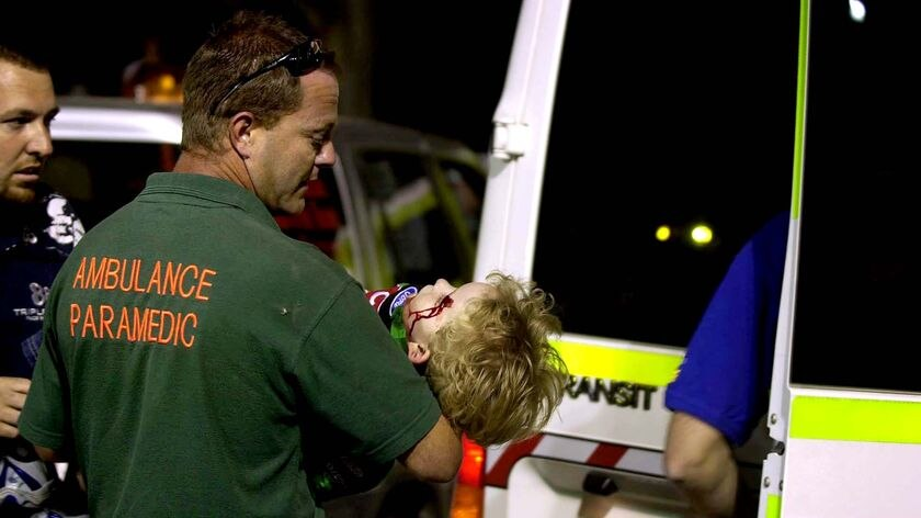 Crowd accident at Summernats