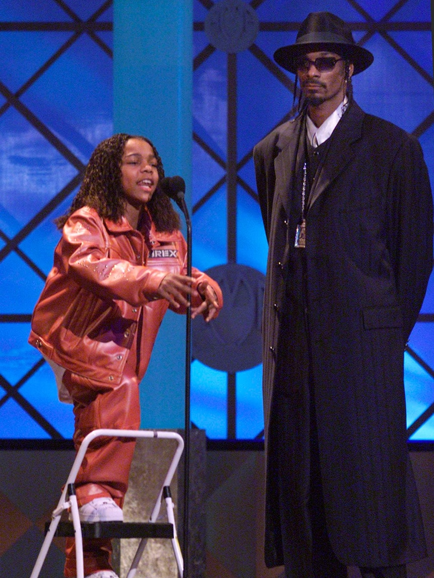 Lil Bow Wow and Snoop Dogg