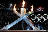 Olympic flame lit in Vancouver