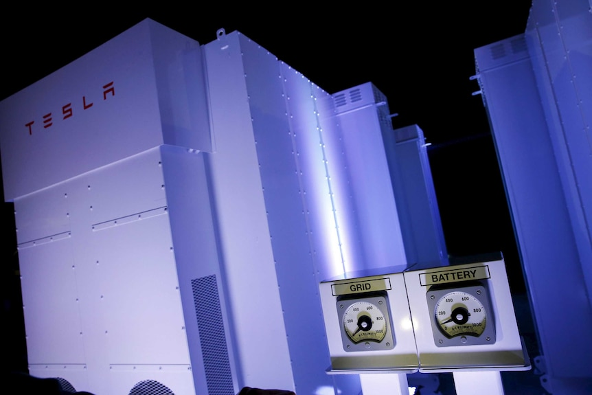 Tesla Energy batteries for businesses and utility companies