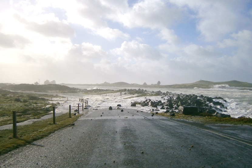Port Fairy roads underwater