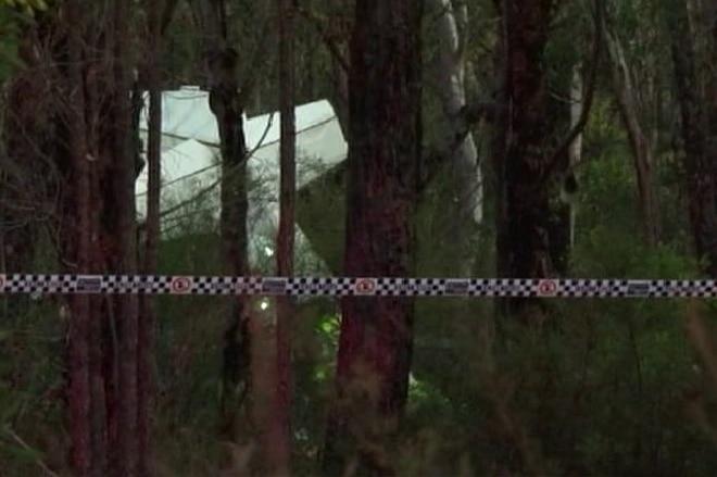 light plane crashed at Wedderburn in Sydney's south-west