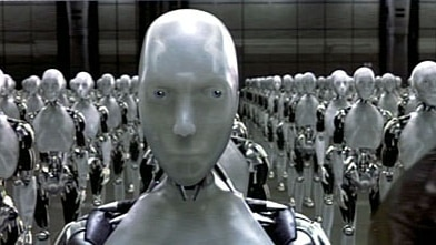 I, Robot: Modern interpretations foresee the Three Laws causing robot chaos.