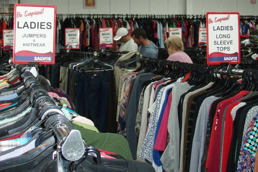 Salvos charity store