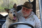 Deepwater resident Peter Mackie and his dog
