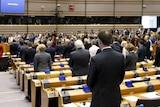 European Parliament minute silence