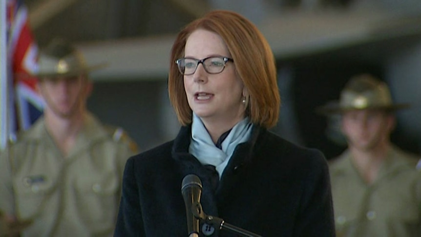 Prime Minister Julia Gillard outlines the core elements of the white paper