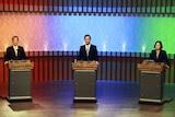 James Soong, Eric Chu and Tsai Ing-wen