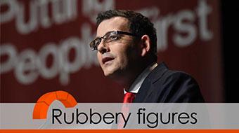Daniel Andrews rubbery figures verdict orange