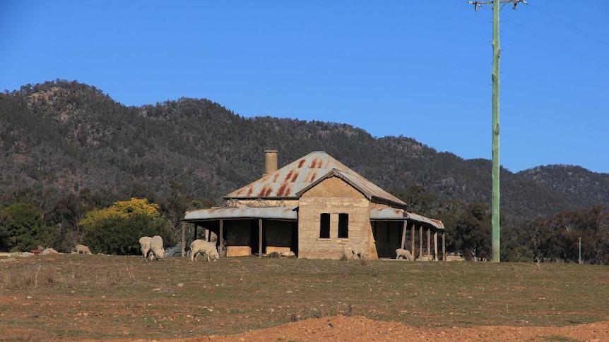 The disused Post Office at Murga