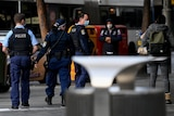 police out in the streets of sydney