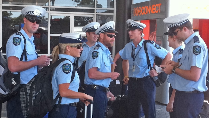 Police officers from interstate have arrived in Perth