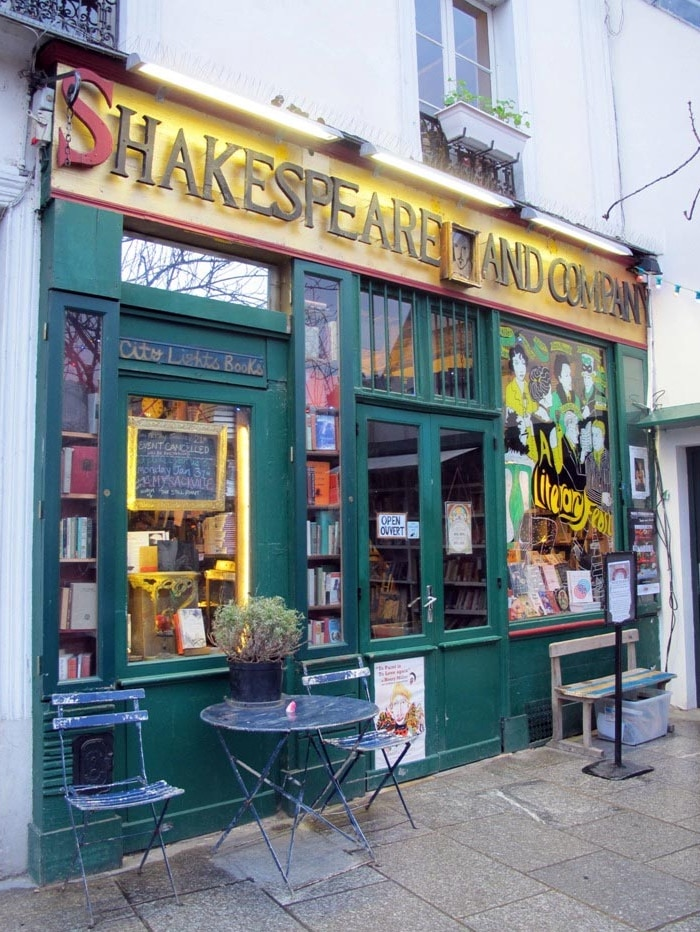 Visitors would work in the shop, sleep in the stacks, and soak up Paris's literary atmosphere.