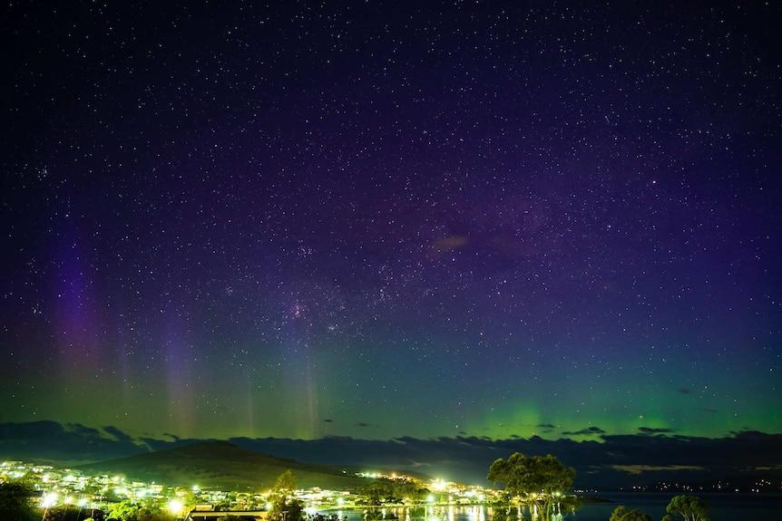 Aurora australis shot from Howrah