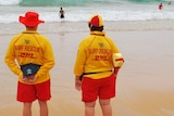 Two surf lifesavers