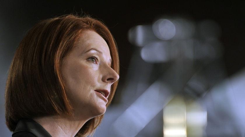 Julia Gillard elected unopposed