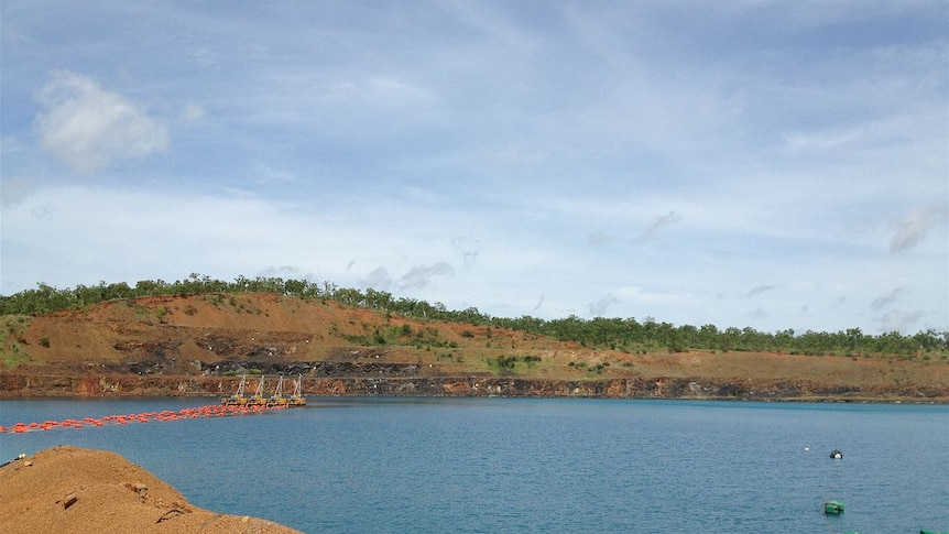 The Mount Todd mine near Katherine in the Northern Territory