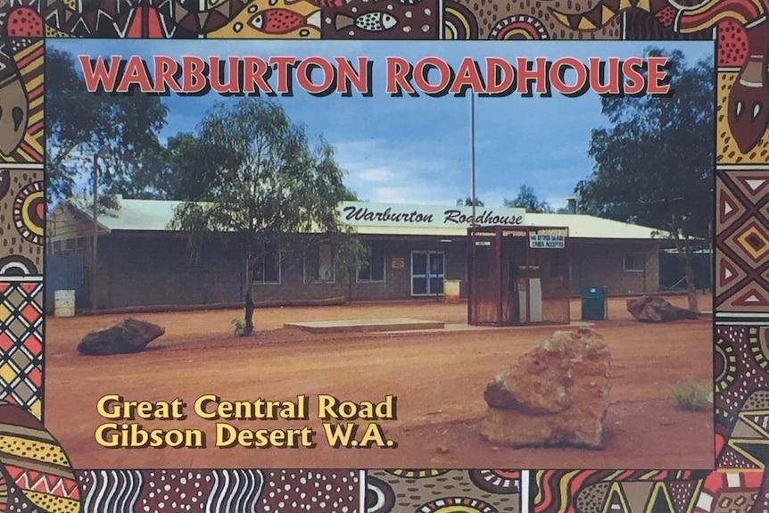 Warburton postcard