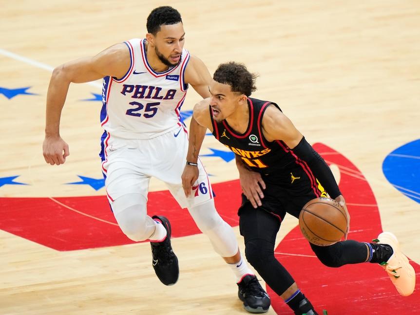 Ben Simmons' Philadelphia 76ers eliminated in NBA playoffs by Atlanta Hawks
