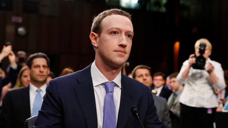 Mark Zuckerberg addresses Facebook privacy leak at a US congressional inquiry (Photo: Reuters/Aaron P. Bernstein)