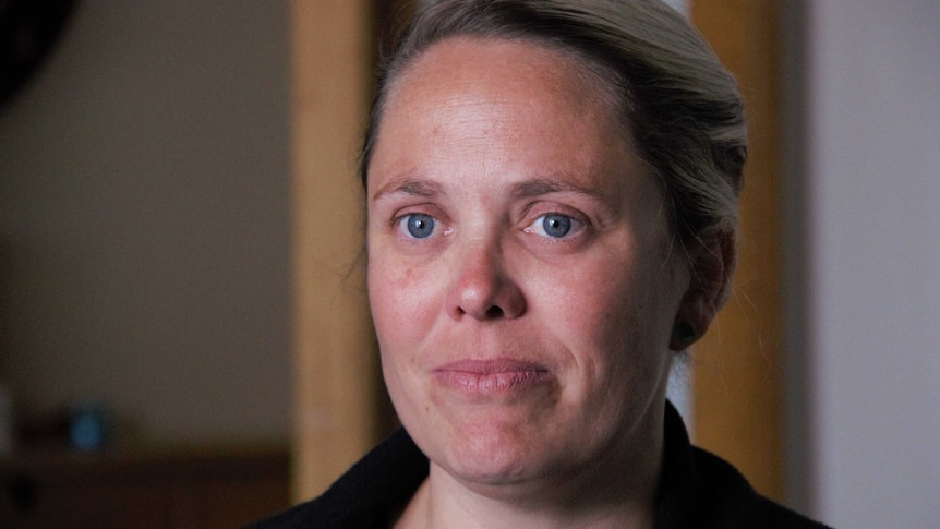 A Queanbeyan mother of two boys, Nadia Gabellone.
