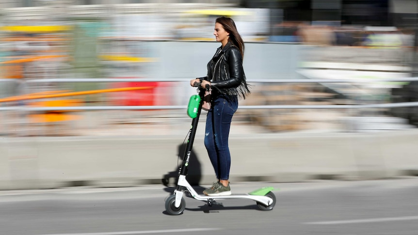 Many cities use shared e-scooters but Gold Coast says safety first