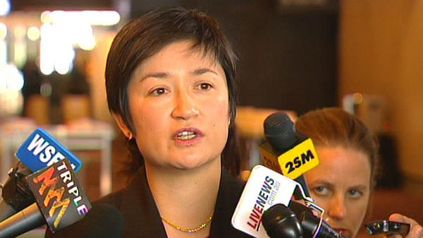 Federal Water Minister Penny Wong