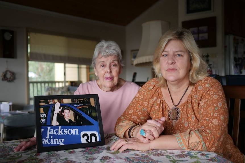 The family of Jeff Barker is advocating for change to the NDIS