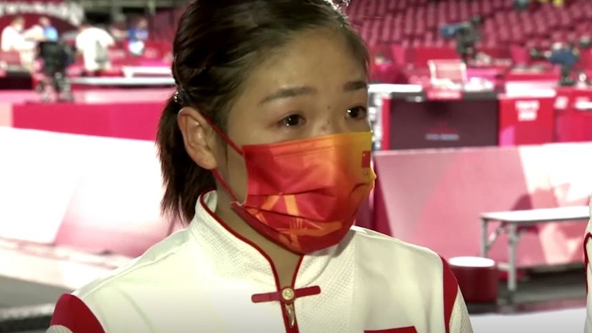 Why China's top table tennis player had to produce tears after getting a silver medal in Tokyo