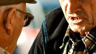 Older men talking