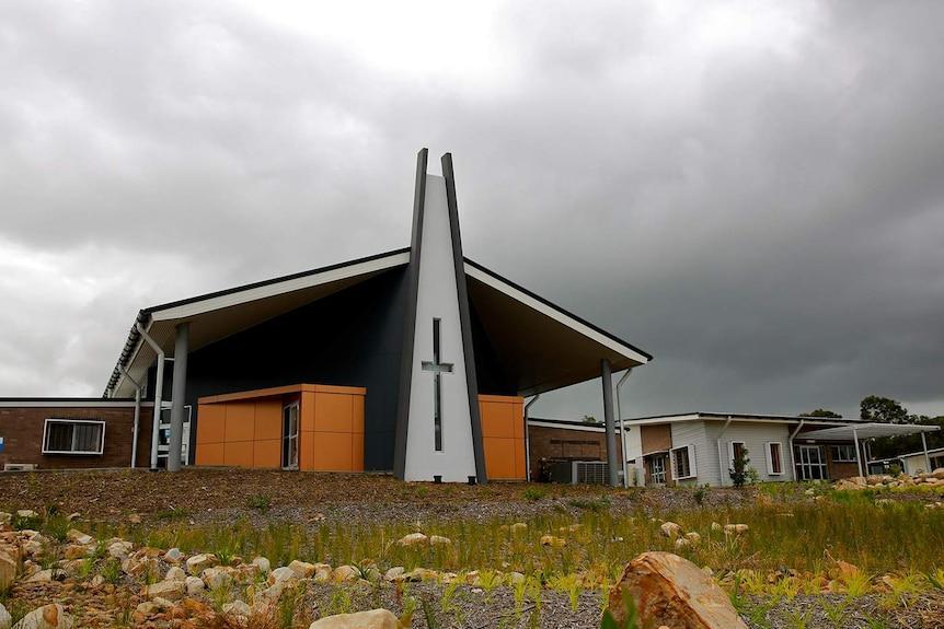 The new St Aloysius school.