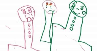 340x180 image of asylum seeker child drawing
