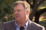 One Nation WA candidate Rodney Culleton at a press conference.