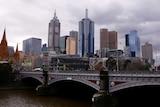 The Melbourne CBD skyline