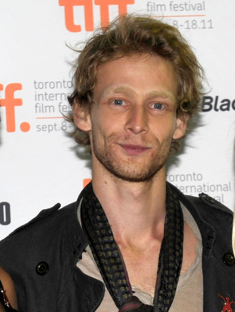 Johnny Lewis arrives at the Lovely Molly screening in Toronto