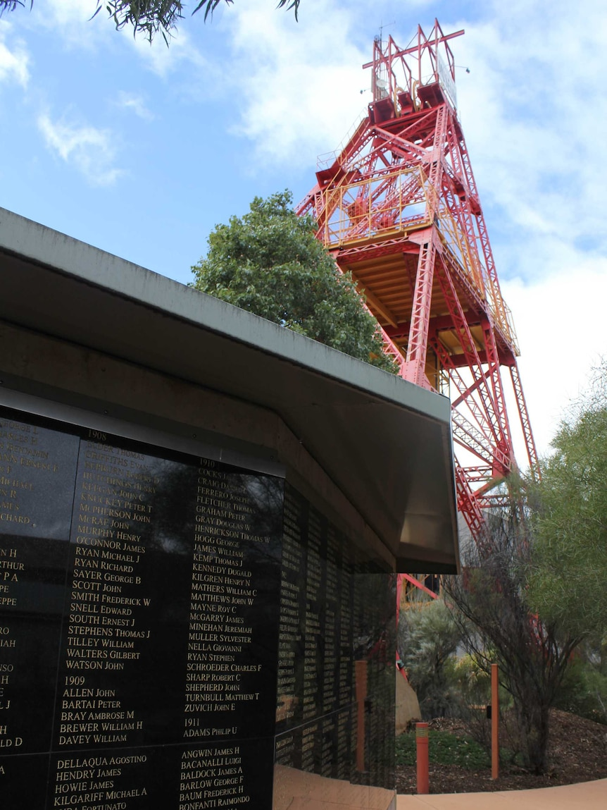 The Eastern Goldfields Miners Memorial
