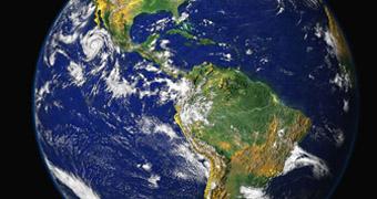 NASA image of the Earth.