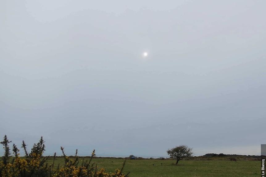 An altostratus cloud formation
