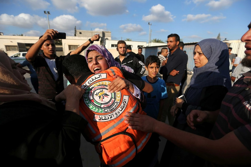 Relative mourns Palestinian's death