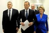 Joe Hockey, Tony Abbott, Warren Truss and Julie Bishop